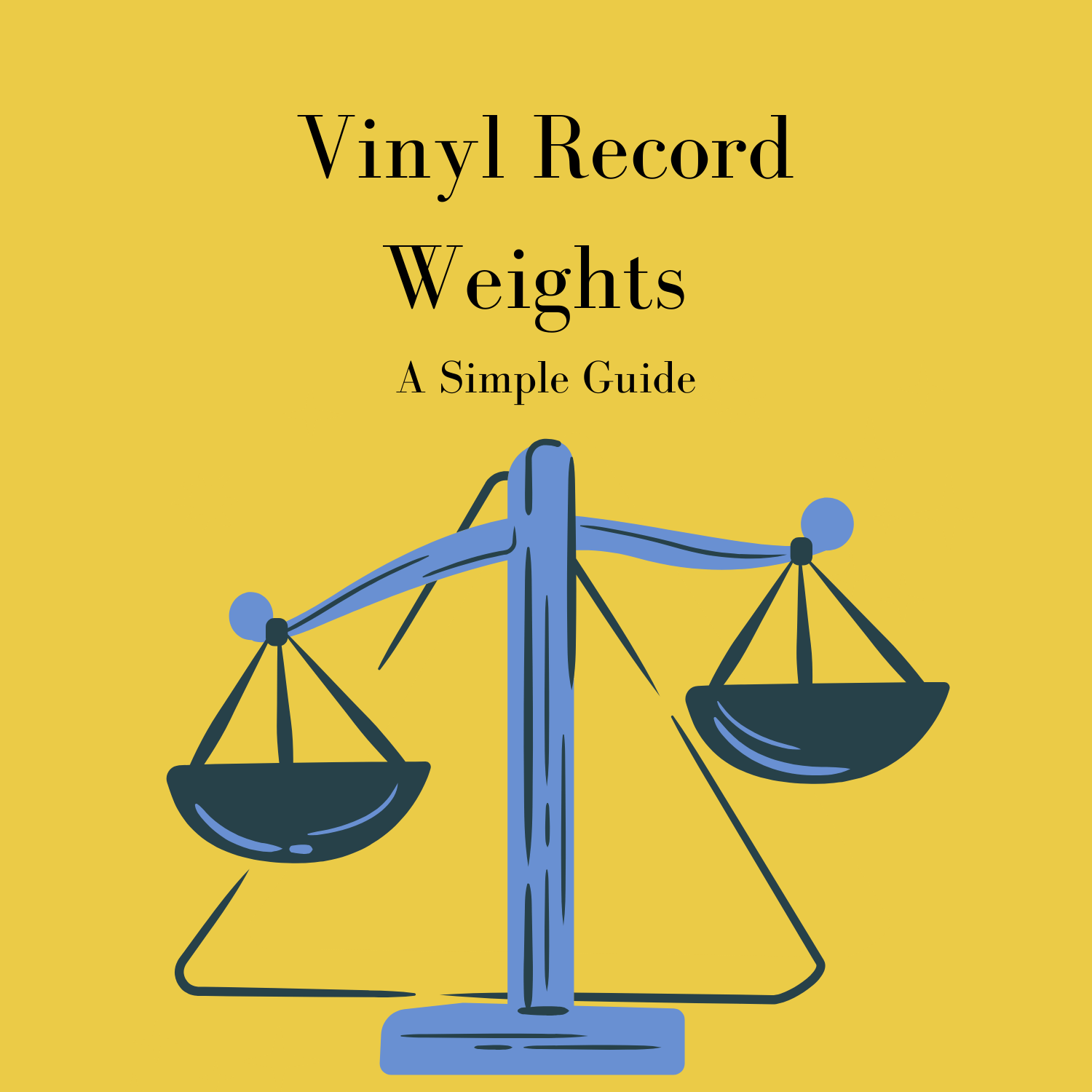 vinyl record weights grams and pounds
