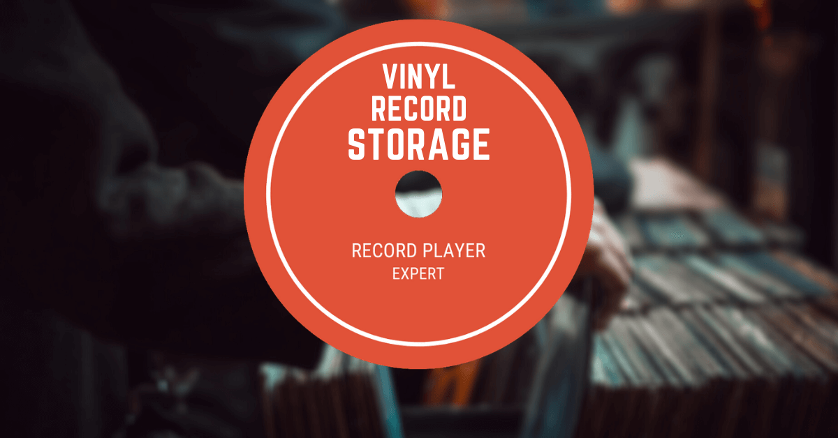 how to store vinyl records title